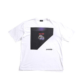 Jhood New York Taxi Over Fit T-Shirts - White